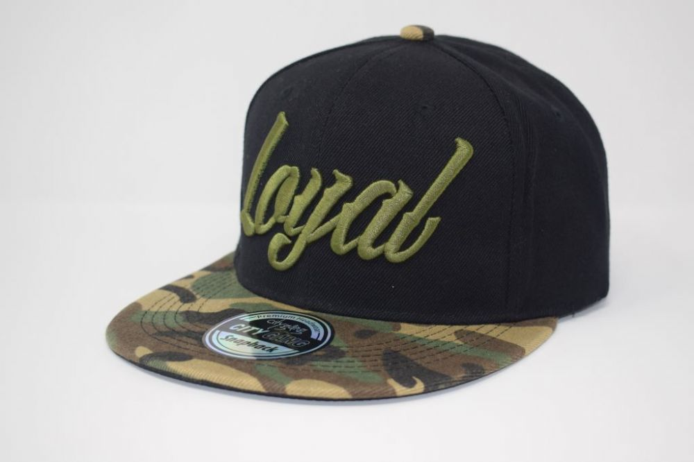 Loyal Snapback caps, one size fits all adjustable